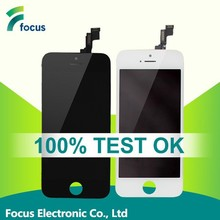100% Original mobile phone for iphone 5s lcd touch screen assembly