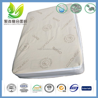 Organic Cotton Fabric Lamited With TPU Membrane, Softness, Sterile, Direct Contact With Skin Mattress Protector