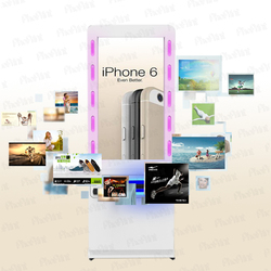 High quality 42 inch android Network wifi 3g lcd 42 inch touch screen/instagram photo booth