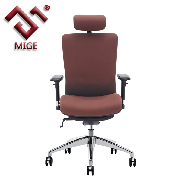 high back comfortable seating fabric office chairs