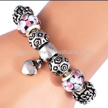 2013 4.5mm beads fit for P bracelet fashion bracelets S-20