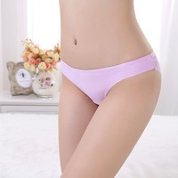 Wonderful Workmanship New Women Sexy Lace Underwear Transparent Lady Briefs Seamless Panty Girls Panty Photos
