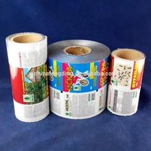 impreso de plástico rollo de película
