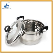 Stainless Steel Japanese Style Cookware Steamers Pot Food Steamers