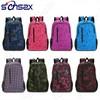Colorful student fashion nylon backpack bag for girls