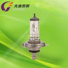 Power White H4 auto halogen bulb P43t 12V 100 / 90W