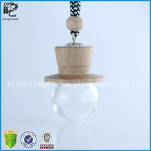 2015 unique wood lid hanging aroma diffuse pendant