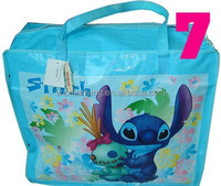 Large Laminated pp Woven Shopping Bag with Zipper