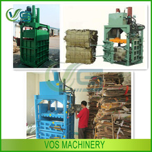 qualified new type hydraulic baler for plastic/cotton baler/cardboard packing machine for sale