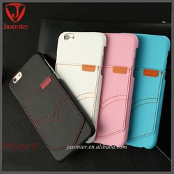 """Many card slot Ultra Slim Protective Carrying Case wallet leather Pu cover for iPhone 6 (4.7"""")"""