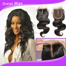 virgin hair silk top closure lace frontal