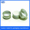 Round pet food aluminum container food canning can
