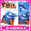 Personalized eco-friendly reusable promotion cotton printed bath towel