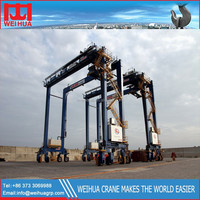 weihua brand Sea port double girder container gantry crane Used in yard China