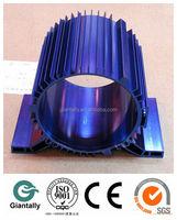 Custom precision aluminum electric motor shell
