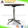 (SP-FT393) Wholesale cafe furniture wooden folding tables round