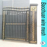 Beauty 4M(L)*2M(H) outdoor iron gate &Doublegate