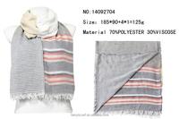 scarf with logo factory OEM Yiwu International Agent fashion trend women scarves