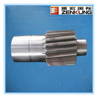Top forging manufacturer 2013 Professional Gear shaft Producer/Factory