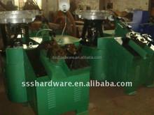 Automatic Screw Nail Threading Machine|Automatic thread rolling machine |Screw spike making machine (skype: helenlee558)