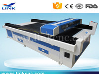 new type stronger 1300*2500mm clothing laser cutting machine /cnc laser cutting machine 1325