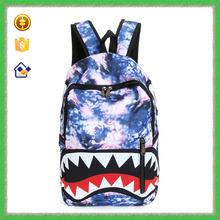 Ytf-p-sjb058 a la moda Cartoon Shark mochila para los estudiantes