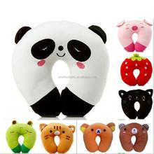 2015 china factory supplier wholesale Selling well fashion 100% cotton super soft U shape Plane Neck Cushion