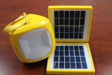 high power led camping lantern lamp with solar panel,mini solar lamp SN-SLY616