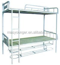 best sell good quality cheap pipe school/labor /military bunk steel bed