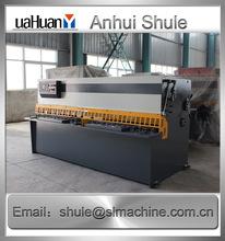 swing shear blades QC12Y-20X2500,NC hydraulic guillotine shearing machine