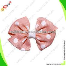 hand made hair bows/bow hair band/ribbon bow pre-made bow