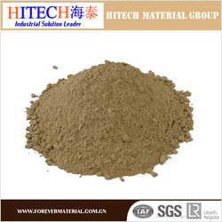 economical price zibo hitech castable refractory cement with good thermal shock resistance