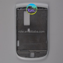 High Quality for blackberry 9800 mobile phone front housing white