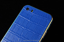 100% genuine leather cell phone case cover for iphone 5/5S