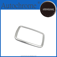 Factory price auto parts car part chrome gear shifter surround trim for F ord Ec oSport 2013 Up