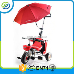 Multi-function new type baby tricycle with umbrella canopy