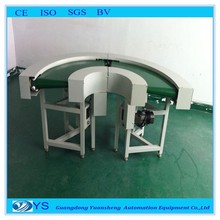180 degree professional belt turning conveyor machine with high quality low price