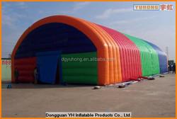 10x30m fire retardant Plato PVC tarpaulin modular inflatable event marquee tent