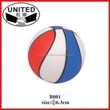 Small Sport Pu Stress Ball Inflatable Basket Football Ping-pang Pu Ball