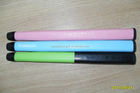 Custom ODM OEM rubber golf grips manufacturer,colorful high quality cowhide leather golf putter grips