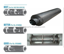 DIFFERENT TYPE SIZE TRUCK MUFFLER