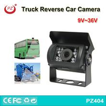 China Factory price night vision 18pcs light truck camera, 12V 24V rearview bus security camera