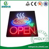 2014 Shenzhen Hidly produce high quality and cheaper acrylic led open sign