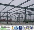 Projetado estrutura pré-fabricada de aço armazém galpão