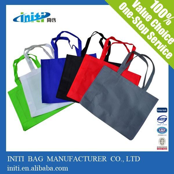cina personalizzato di qualità a buon mercato sacchetto di acquisto non tessuto per lo shopping