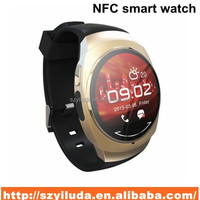 Smart bluetooth watch with NFC camera wristWatch SIM card Smartwatch for iPhone6 Samsung Android Phone watch phone