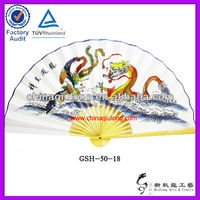 Big Chinese Hand Held Fans for Wall Decor
