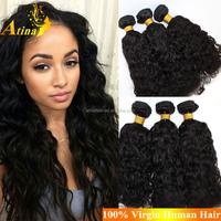 Wholesale Hot Selling Cheap 26 Inch Natural Virgin Eurasian Hair Water Wave