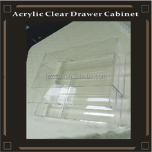 clear acrylic 2 drawers organizers