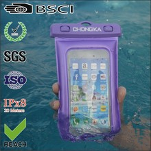 2015 new popular pvc waterproof bag for samsung